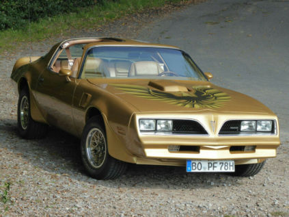 Golden Trans Am '78