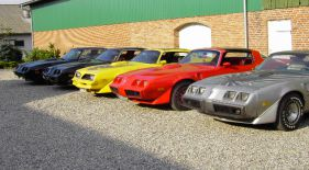 Pontiac Trans Am cars